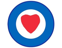 patch 'Heart target'