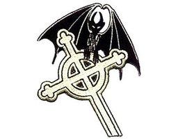 patch 'keltisch kruis en vleermuis'
