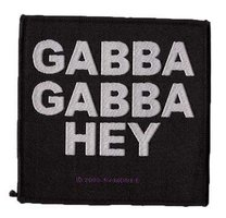 Ramones patch 'Gabba Gabba Hey'