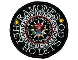 Ramones patch 'Hey Ho Let's Go'