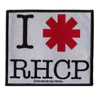 Red Hot Chili Peppers patch 'I Love RHCP'