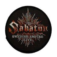 Sabaton patch 'Swedish Empire Live'