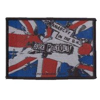 Sex Pistols patch 'Anarchy in the U.K.'