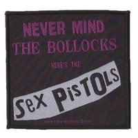 Sex Pistols patch 'Never Mind The Bollocks'