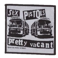 Sex Pistols patch 'Pretty Vacant'