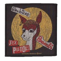 Sex Pistols patch 'Who Killed Bambi'
