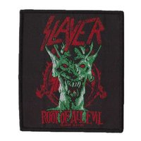 Slayer patch 'Root Of All Evil'