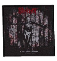 Slipknot patch '.5: The Grey Chapter'