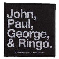 The Beatles patch 'John, Paul, George & Ringo'