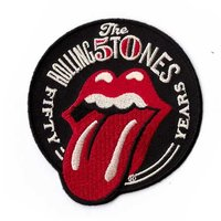 The Rolling Stones patch '50 years'