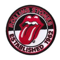 The Rolling Stones patch 'est. 1962'