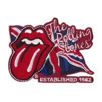 The Rolling Stones patch 'lick the flag'