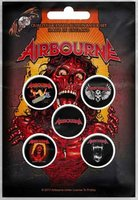 Airbourne button set - Breakin Outta Hell
