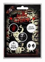 Alice Cooper button set 'Eyes'