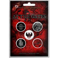 At The Gates button set - To Drink From The Night Itself
