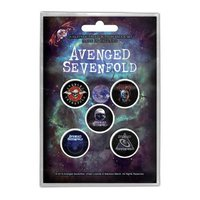 Avenged Sevenfold button set - The Stage