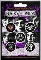 Black Veil Brides button set 'Pentagram'
