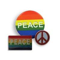 button en pin set 'peace'