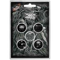 Darkthrone button set  'Old Star'