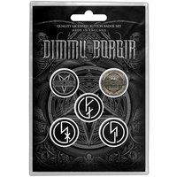 Dimmu Borgir button set - Eonian