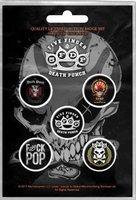 Five Finger Death Punch button set