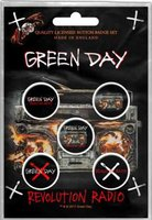 Green Day button set