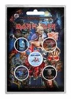 Iron Maiden button set 'Later albums'