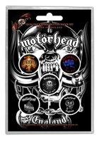 Motorhead button set 'England'