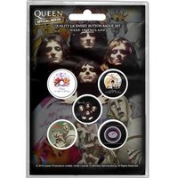 Queen button set 'Early Albums'