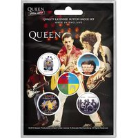 Queen button set 'Later Albums'