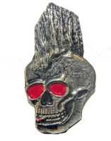 Skull speldje - Mohawk