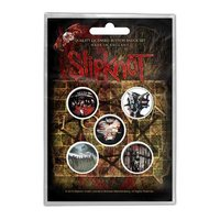 Slipknot button set - Albums