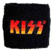Kiss zweetbandje 'logo'