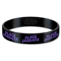 Black Sabbath rekbare armband