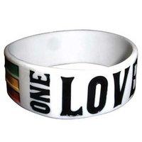 Bob Marley rekbare armband 'One Love'