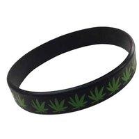 Cannabis rekbare armband