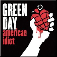 Green Day magneet 'American Idiot'