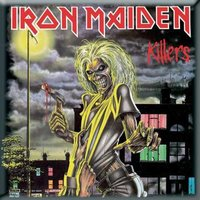 Iron Maiden magneet 'Killers'