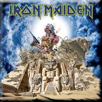 Iron Maiden magneet 'Somewhere Back In Time'