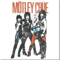 Motley Crue magneet - Vintage World Tour