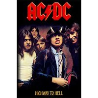 AC/DC textielposter 'Highway To Hell'