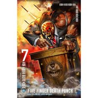 Five Finger Death Punch textielposter 'And Justice For None'