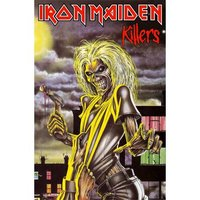 Iron Maiden textielposter 'Killers'
