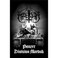 Marduk textielposter 'Panzer Division'