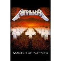 Metallica textielposter 'Master of Puppets'