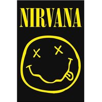 Nirvana textielposter 'Smiley Face'