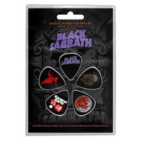 Black Sabbath plectrum set 'Purple logo'