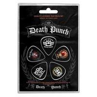 Five Finger Death Punch plectrum set '5FDP'