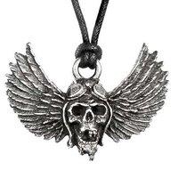 Airbourne hangertje 'winged skull'