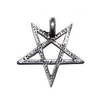 Pentagram hangertje 'ancient'